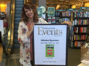 Vice President of Strategy Mikalee Byerman at her book event at Barnes & Noble