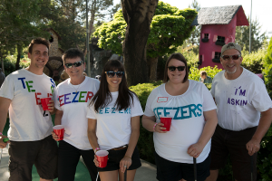 The Community Foundation's 'Teezers' are ready to get to work helping the city's homeless residents.