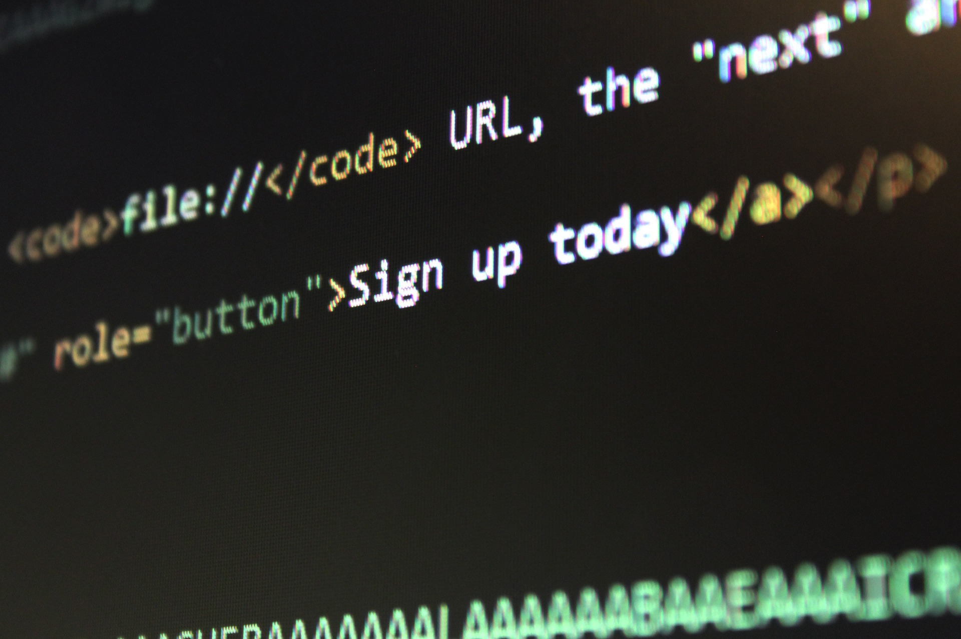 accessible website coding