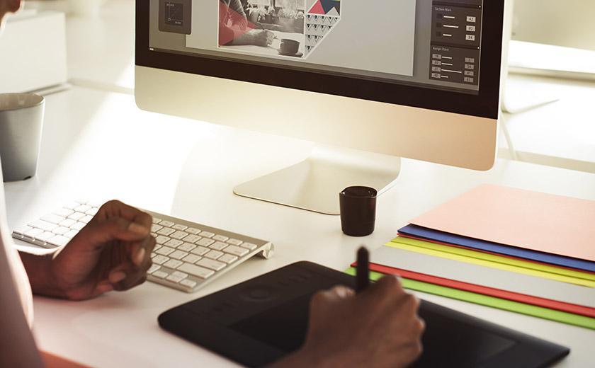 graphic design intern